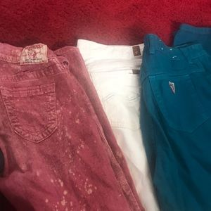 Joe's, true religion, & vintage guess jeans bundle